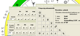 Regiomontanus kényelmi funkciók - Humanisztikus Asztrológia Iskola