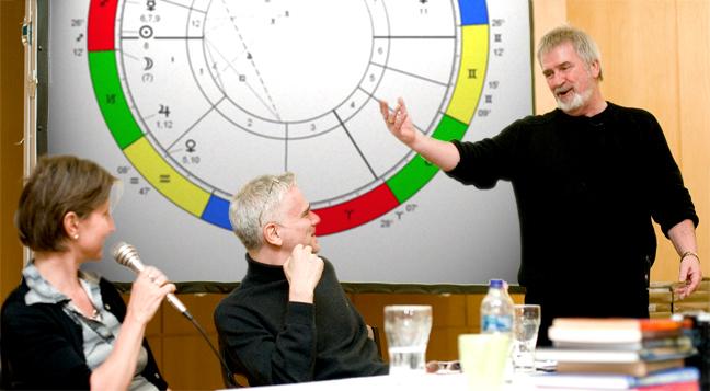 Peter Orban a Humanisztikus Asztrológia Iskolában